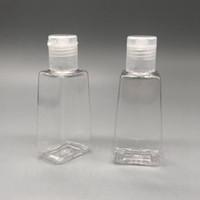 Пустой дезинфицирующее средство для рук сумка Трапециевидная форма бутылки Портативный Путешествия Упаковка Бутылки Makeup Remover Жидкость Шампунь для хранения бутылок YFA2055