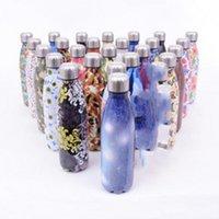 Unicorn Edelstahl-Wasser-Flaschen Unicornio Cup mit Deckel Cola formte nicht Beleg Büro Isolierflasche für Office 18 5zx ZZ