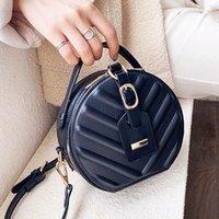 Crossbody сумка кожаные круглые женские сумки сумки сумки роскошный дизайнер маленький для плеч сумочки женские Zip женщины AAQVV