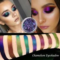 Chameleon Pigment Glitter cromato ombretto prismatico polvere lucido lucido metallico ombretto ombretto trucco impermeabile 12 colori