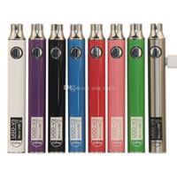 Authentic UGO V III V3 650 900mAh EVOD Ego 510 Battery 8colors micro USB baterias vape carga de passagem vs Bateria Spinner 3s