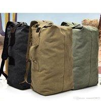 Travel Rucksack Duffle Bag Unisex Multifunctional Canvas outdoor sport backpack big capacity Hiking 2way leisure rucksake fashion
