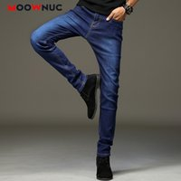 Jeans For Men 2020 New Casual Fashion Pants Straight Full- le...