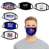 Джо Байден маски для лица США Президентских выборов Mouth Маски Смешной Anti-Dust Хлопок Мужской Моды Моющейся маски Дизайнерских маски IIA302