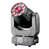 6 pieces LED 90W gobo spot movinghead and 9x18W 6in1 RGBWA+UV wash 2in1 moving head led stage light