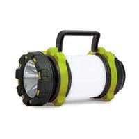 Linternas Antorchas Lámpara Camping USB Recargable CARGA Portátil Impermeable Tienda Tienda Luz Alto Brillo Atenuación baja