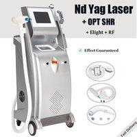 5 في 1 nd yag الليزر الوشم آلة إزالة الصباغ بقعة العلاج الاحتيال shr ipl الشعر الإزالة الجلد تشديد lazer
