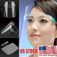 US sTOCK PET Face Shield With Glass Holder Safety Oil- Splash...