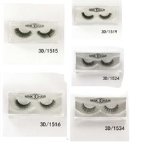 3D Mink Lashes False ciglia a mano make up naturale Ciglia finte scintillio imballaggio 1 paio box make up delle ciglia
