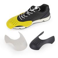 Sneakers için Ayakkabı Kalkanı Anti-kırışık buruşuk kat desteği toe Cap ayakkabı strecher koruyucu 1/2 / 3 pairs