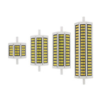 10W 20W 25W 30W R7S LED 옥수수 전구 78mm 118mm 135mm 189mm AC 110V 220V SMD 5730 램프 교체 할로겐 빛 투광 조명