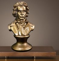 2020 European music master Beethoven sculpture bust office b...