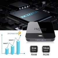 H96 Mini H8 Android 9.0 TV Box 1GB 8GB Rockchip RK3228A 2.4G 5G المزدوج واي فاي بلوتوث