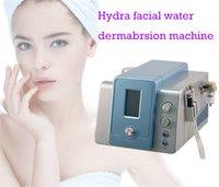 2 IN 1 Hydro dermoabrasione Hydra dermoabrasione acqua dermoabrasione pelle a buccia microdermoabrasione macchina Con 8 Hydra punte 9 Diamante Tips