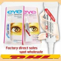 Neueste Augen-Peitsche-Kleber Schwarz Weiß Verfassungs-Kleber Wasserdicht falsche Wimpern Kleber Kleber Weiß und schwarz DHL
