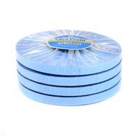 Cinta de soporte delantero de encaje de 36 yardas Cinta de rollo de línea de revestimiento azul para la peluca de encaje / la extensión del cabello de la PU / TOUPEE PELO DE PAN PELO Adhesivos 0,8 cm / 1.0cm / 1.27cm Ancho