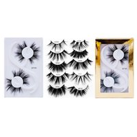 UPS!2020 New 2 Pairs 20mm Synthetic eyelashes 3D Faux Mink H...