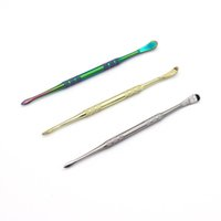 3 цвета Титан Инструмент прилагая Инструмент сухой травы испарителем Красочный Инструмент Dabber Воск Форсунка для Container Vapor Pen Glass Globe Kit
