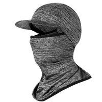Portátil ao ar livre bicicleta motocicleta protetor solar seda gelo máscara chapelaria verão montando rosto capa de seda máscara de gelo