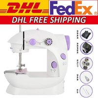 DHL-freies Verschiffen Minihand Pedal Nähmaschinen Multifunktions-Elektro-Automatik Tread Rewind Nähmaschine FY7043