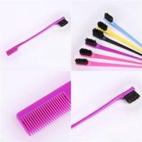 Doppelseitige Verfassungs-Bürsten-Haar, das Werkzeug-Bürste und Farbstoff Ihre Haare kämmen Bunte Schönheit Good Looking 1 1CH E2