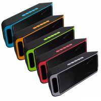 SC208 Mini Taşınabilir Bluetooth Hoparlör Sıcak Satış Kablosuz Yüksek sesle Müzik Çalar Büyük Güç Subwoofer Destek TF USB FM Radyo