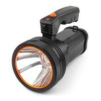 Портативные фонарики Высокая мощность Super Яркий светодиодный прожектор на открытом воздухе открытый портативный фонарик перезаряжаемый USB длинная лампа SS