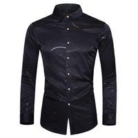 الرجال اللباس قمصان M-7XL زائد حجم الرجال قميص طويل الأكمام الشارع الشهير واحد اعتلى رجل سهرة للملابس 2021 xxxxxxxl