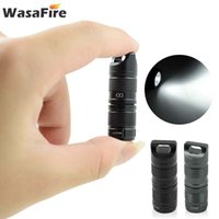 Фонарики факелов WataAfire Pocket Mini USB аккумуляторный супер маленький факел портативный брелок LANTERNA водонепроницаемый светодиодный лагерь лагеря