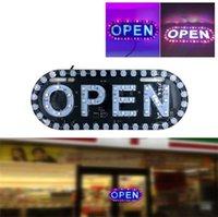 tabuletas de publicidade levou placa aberta do display LED sinal aberto de trabalho leve para as luzes da placa de licença loja bandeira Car Motorcycle