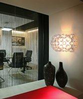 Moderne Caboche Wandleuchte sconce Gold Acryl Kugel Flur Flurwohn Esszimmer Licht Beleuchtung Fixture WA045