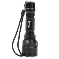 Lanternas Tochas Ultrafire Cree XM-LT6 18650 Tocha Lanterna Caça Ao Ar Livre Interruptor Tático Luz T6 Transmissor Lâmpada LED
