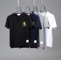 New Hot Sale Homens Mulheres T-shirt Moda Verão manga curta clássico do filhote de cachorro roupas bordados Unisex frete grátis Casual T Shirt
