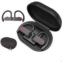 A9 TWS Bluetooth Kopfhörer True Wireless Ohrhörer Bluetooth 5.0 Wireless Kopfhörer Wasserdichter Ohrhaken Sport Kopfhörer mit Ladefach