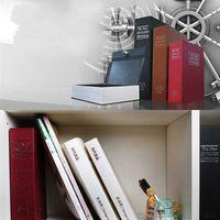 Trompette Tirelire Simulation Dictionnaire cachée boîte de rangement avec des boîtes de verrouillage de sécurité clés Mode Accueil Stockage argent 17 2zf D2