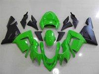 Accessoires moto KAWASAKI ZX-1000C NINJA 04 05 10R blk 35NO101 ZX10R 04 ZX1000 C ZX10R ZX 10 R 04 05 kit Carénage