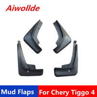 Car MudFlaps For Chery Tiggo 4 Tiggo4 5X 2017 2018 2019 Mudflaps Splash Guards Mud Flap Mudguards Fender