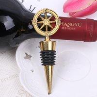Parti Paskalya DHL Free For Altın Pusula Şarap Stopper Düğün tercih Ve Hediye Şarap Şişe Açacağı Bar Araçları eşyalar