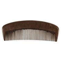 اللحية الرعاية الصحية الطبيعية الذهب الأسود خشب الصندل مشط الشعر مكافحة ساكنة مشط من فرشاة الشعر فرشاة الشعر الرجال النساء