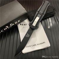 Benchmade BM 3300 Infidel Bıçak Çift Otomatik D2 Çelik Taktik bıçak bıçak 3310BK Kelebek BM940 BM42 C81 C07 BM781 BM940-1 BM43 Araçları