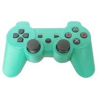 Perakende Kutu logosu dropship 1pc ile PS3 Titreşim Joystick Gamepad Oyun Kontrolörleri için DualShock 3 Kablosuz Bluetooth Denetleyici