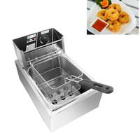 Lewiao comercial doble aceite cilindro eléctrico profundo fryer papas fritas fritura máquina horno olla frito pollo parrilla EE. UU.