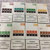 Vape CartTidge New Package Pacchetto 5% Compatibile Ju Pod per E Cigarett Device PODS Cartucce Logica monouso