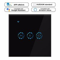WiFi volet roulant Smart Switch rideau Stores tactile commutateur de commande de porte de garage par Amazon Alexa Google Accueil Minuteur fil neutre Needed