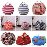 43 Colors Storage Stuffed Animal Storage Bean Bag Chair Portable Kids Toy Storage Bag & Play Mat Clothes Home OrganizerDHL Free 26