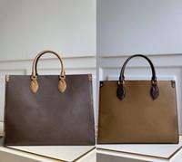 أبدا كشط مستحضرات تجميل أزياء المرأة GM MM الكتف التسوق اليومية حقيبة يد Laides Pochette اكسسوارات طباعة M44576