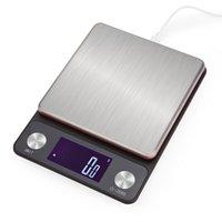 Digital Food balança eletrônica Cozinhar Peso Kitchen Scale gramas e Onças Oz LCD Dispaly 3 kg / 0.1g 10kg / 1g JK2005KD
