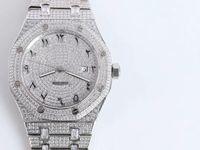 Мужские часы, высокое качество, тело набор с бриллиантами серии, диаметр 41 мм, оригинальная складная пряжка, 3210 автоматическое механическое движение цепи,
