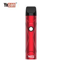 YoCan X Ecig vape 포드 스타터 키트 500mAh 포드 시스템 기화기 휴대용 vape 포드 장치 QDC 카트리지와 함께 예열 VV 모드 100 % 새로운 새로운