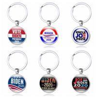 Джо Байден Keychain Проголосуйте за 2020 Американский президент Выборы-демократической партии Главная 12 цветов Основные аксессуары Мужская цинковый сплав металла VT1381